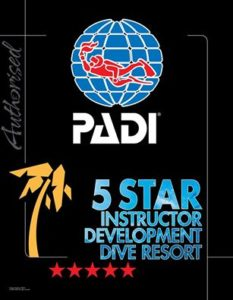 5 star instructor development dive resort padi