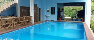 Piscina pool PADI IDC THAILAND ITALIAN