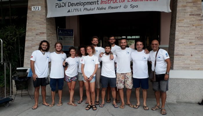 Staff Italia Sawasdee Diver