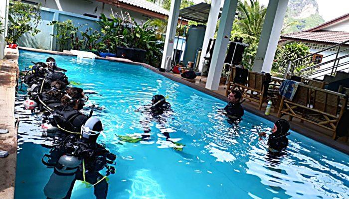 Italian Thailand Team Sawasdee Divers