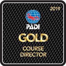 PADI Course Director Enzo Volpicelli