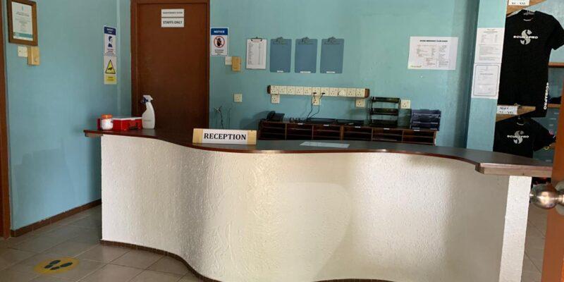 reception fihalhohi dive resort