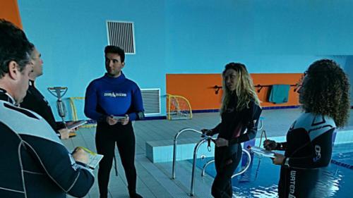 acue confinate PADI IDC Orca Diving Center
